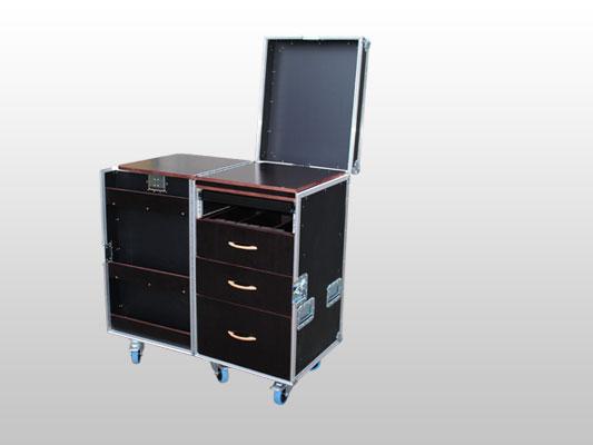 Le Flight Case des meubles originaux, pratiques au design moderne -> Meuble Tv Flight Case